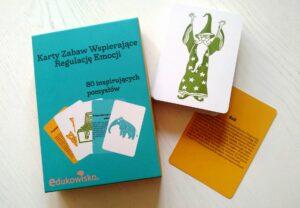 Karty zabaw wspierające regulację emocji